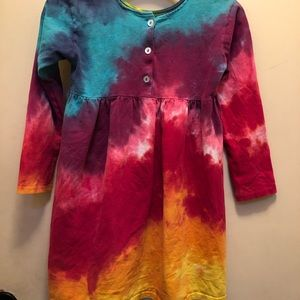 Dresses - 💙Adorable💗 tie dyed dress.